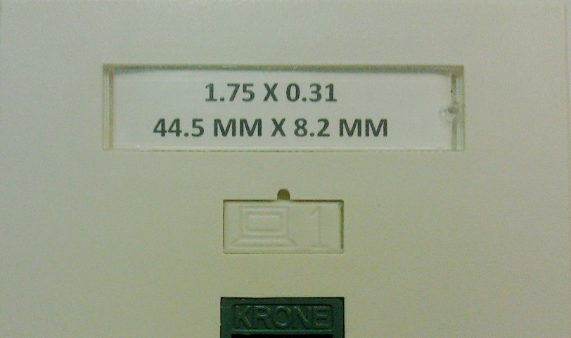Data jack Labels, labeling software