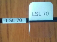 Cable Labels LSL-70 (156 Labels per Sheet) - Product Image