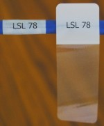 Cable Labels LSL-78 (21 Per Sheet) - Product Image
