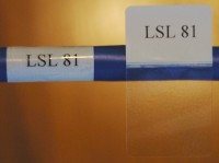 Cable Labels LSL-81 (54 Labels per Sheet) - Product Image