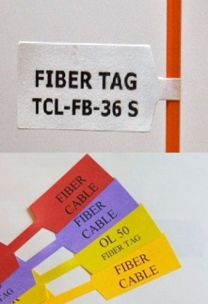 Fiber and Cable Tags (Standard 36 PER SHEET) - Product Image