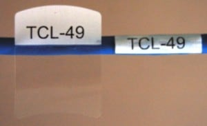 Tech cable labels