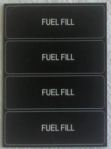 engraved patch panel labels