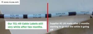 Better white labels