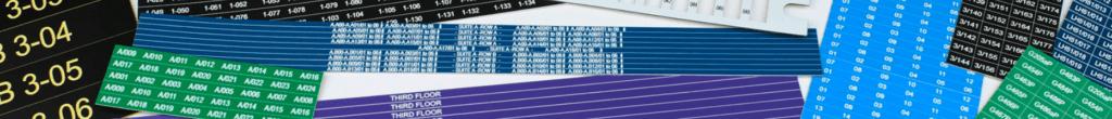 Engraved labels