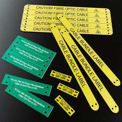 Engraved Tie-on Labels