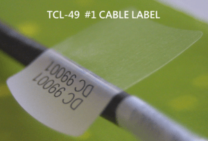 TCL-49 cable labels